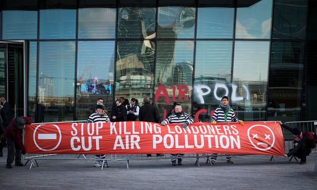 London air pollution activists 'prepared to go to prison' to force action