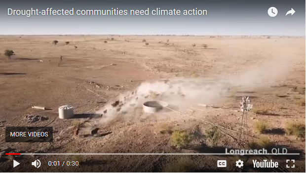 Drought-stricken farmers challenge Coalition's climate change stance in TV ad