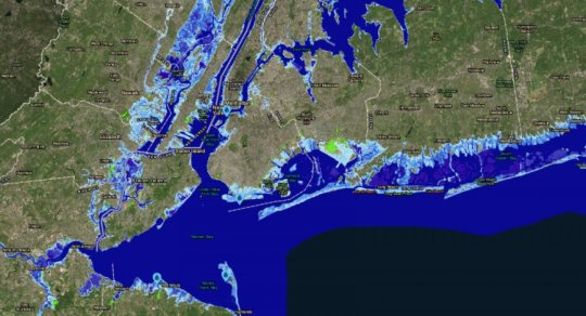 Global sea level could rise 50 feet by 2300, study says