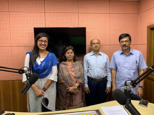 Talk show with ABC Radio on Harmful Effects of Mercury Added Products on Health and Environment.