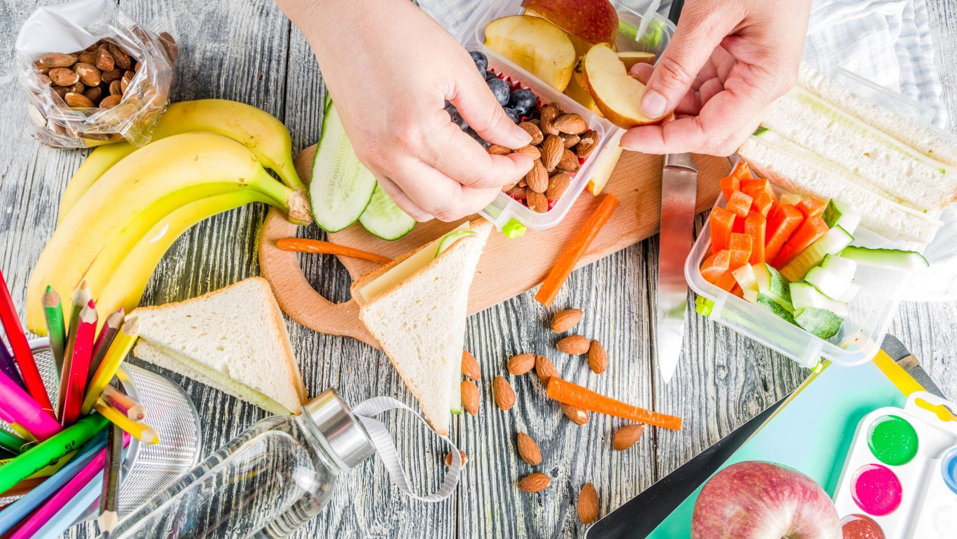 Healthy snacks to pack your kids in the new year