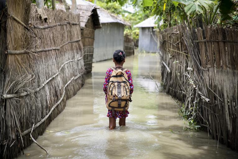 Climate change threatens lives and futures of over 19 million children in Bangladesh