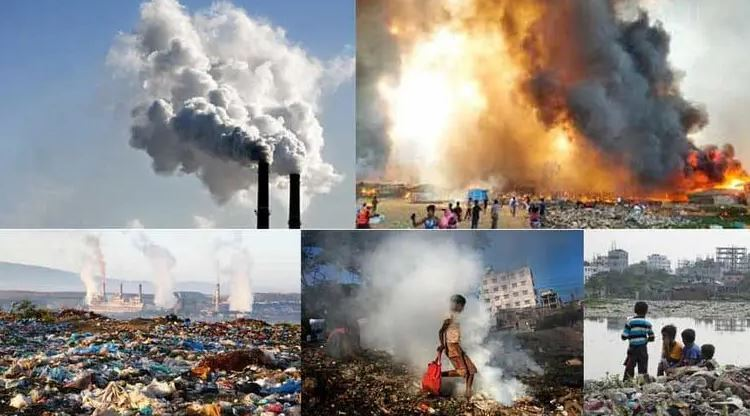 Massive Methane (CH4) in the air, Bangladesh is at the top of this greenhouse gas emission
