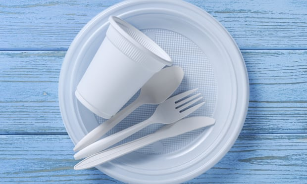 Single-use plastic plates and cutlery to be banned in England
