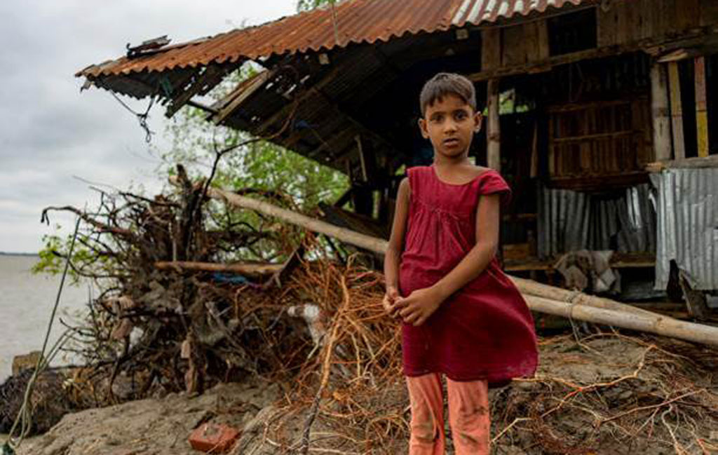 Unicef: Children in Bangladesh at extremely high risk from climate change