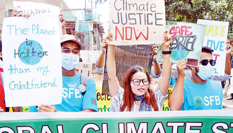 Climate justice for all demanded