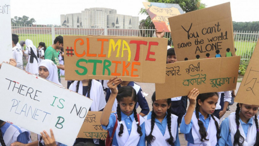 Young people can be saviours in dealing with climate change